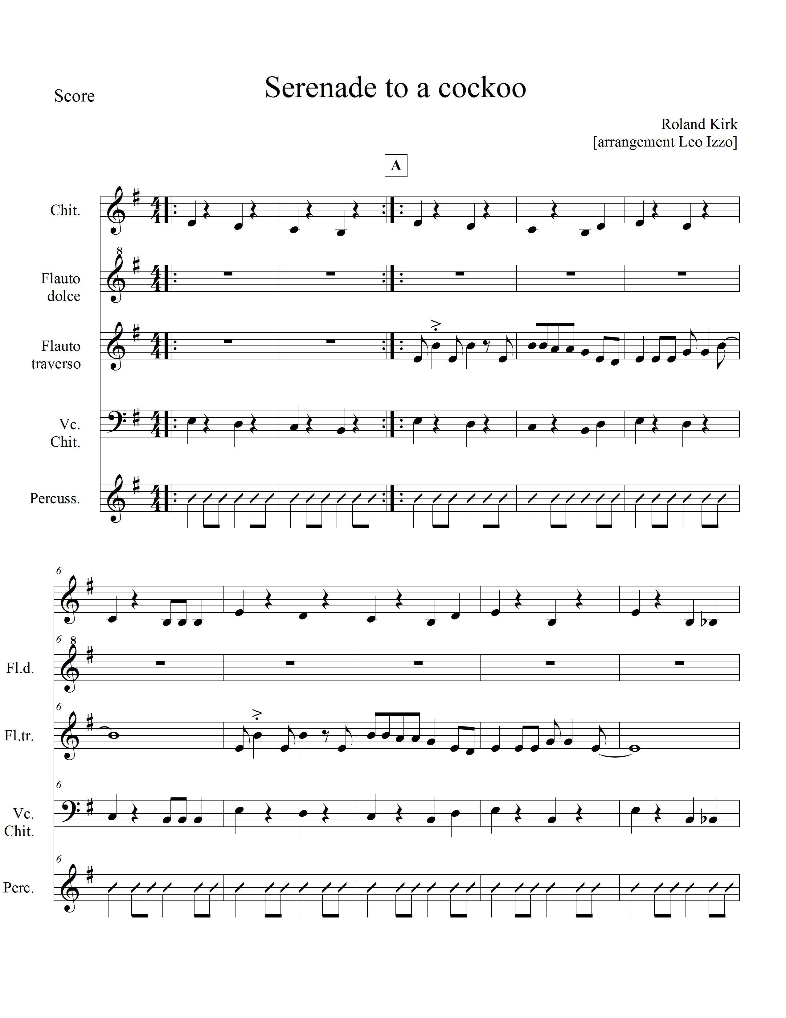Famoso marzo | 2012 | Aulodie [Scuola] NS55