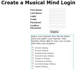 Musicalmind_login