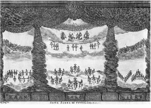Alfonso Parigi, I cieli (atto V, scena II, Finale de Le nozze degli dèi, 1637)