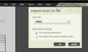 Noteflight export