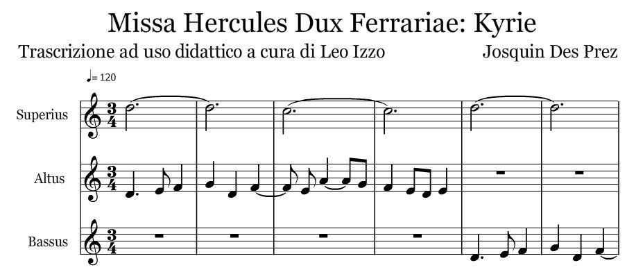 Preferenza educazione musicale | Aulodie [Scuola] KU01